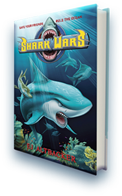 Shark Wars by EJ Altbacker